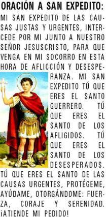 Oracion a San Expedito